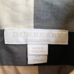 Authentic Burberry Classic Polo Size 6Y